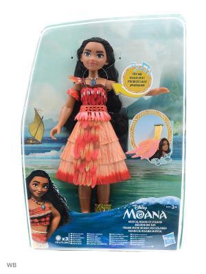 Кукла Моана с музыкой Disney Princess. Цвет: красный