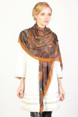 Платок Ungaro. Цвет: коричневый