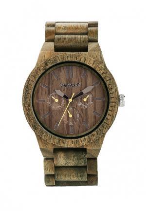 Часы Wewood. Цвет: хаки