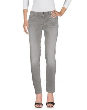 Джинсовые брюки TER DE CARACTÈRE. Цвет: серый