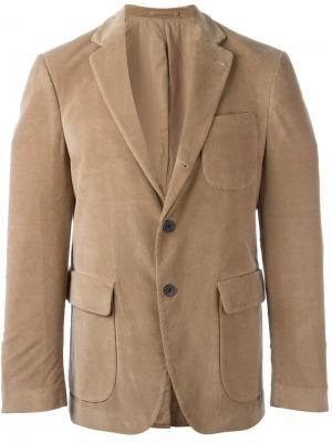 Блейзер с карманом Wooster + Lardini. Цвет: телесный