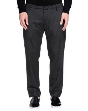 Повседневные брюки DONDUP. Цвет: стальной серый