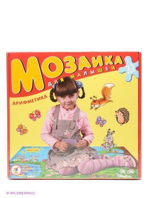 Мозаика для малышей. Арифметика Дрофа-Медиа. Цвет: красный, желтый