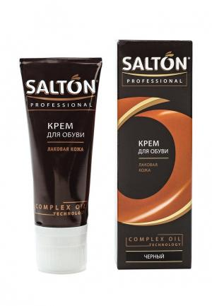 Крем для обуви Salton Professional. Цвет: черный
