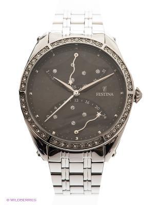 Часы Festina RETRO. Цвет: серебристый