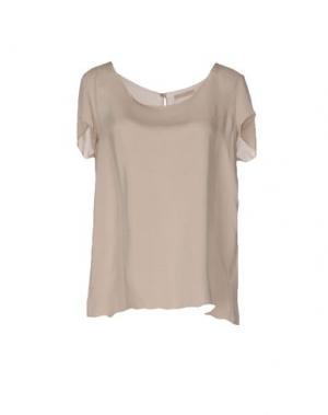 Блузка ALMERIA. Цвет: бежевый