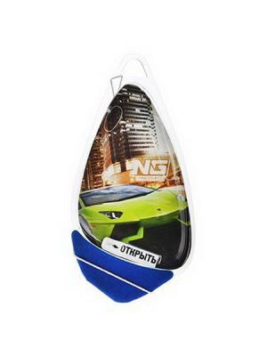 Ароматизатор подвесной гелевый racer, 8мл, бабл гам New Galaxy. Цвет: зеленый