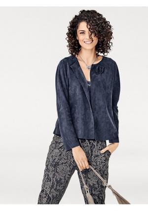 Жакет Linea Tesini. Цвет: темно-синий