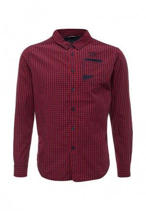 Рубашка MeZaGuz. Цвет: красный