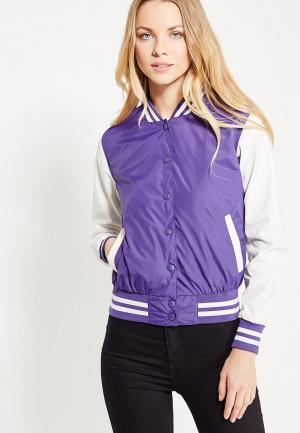 Куртка Urban Classics. Цвет: фиолетовый