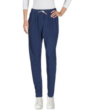 Повседневные брюки EMPATHIE. Цвет: синий