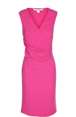 Платье Diane Von Furstenberg. Цвет: фуксия