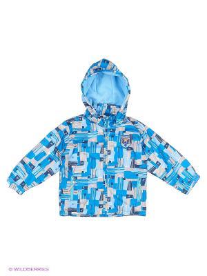 Куртка M&DCollection. Цвет: голубой