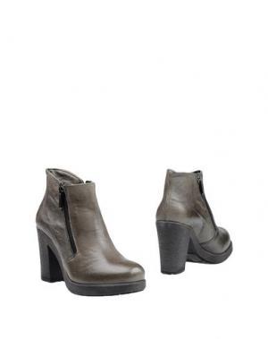 Полусапоги и высокие ботинки CREATIVE. Цвет: свинцово-серый
