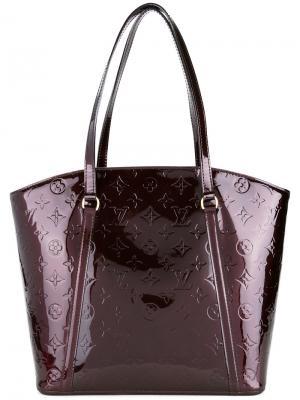 Сумка Vernis Avalon Louis Vuitton Vintage. Цвет: красный