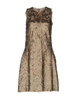 Короткое платье SLY010. Цвет: хаки