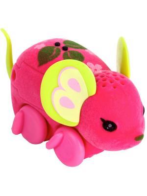 Интерактивная мышка Little Live Pets  Apple Boppin Moose. Цвет: розовый