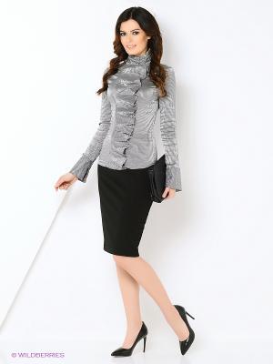 Блузка RUXARA. Цвет: серый