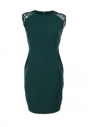 Платье Zalora. Цвет: зеленый