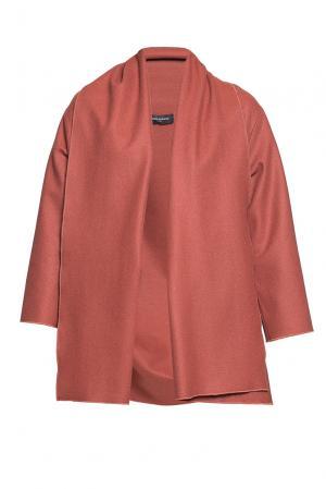 Кардиган из искусственного шелка и шерсти 184158 Cyrille Gassiline. Цвет: коричневый