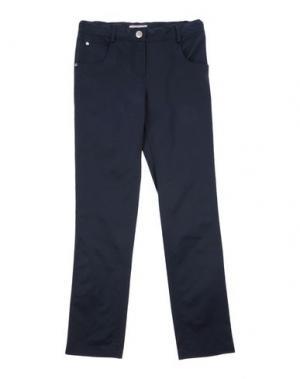 Повседневные брюки MIRTILLO. Цвет: темно-синий