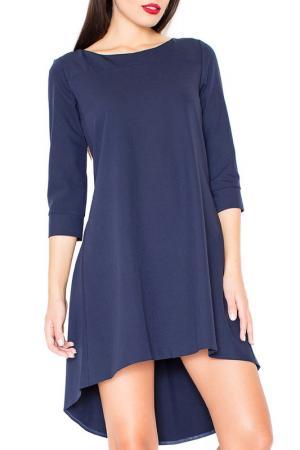 Dress KATRUS. Цвет: navy blue