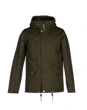 Куртка ELVINE. Цвет: зеленый-милитари