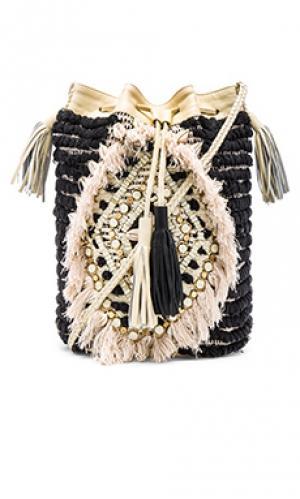 Маленькая сумочка jesa Antik Batik. Цвет: черный