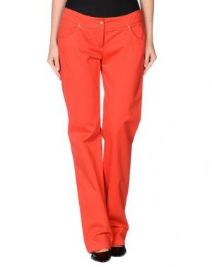 Повседневные брюки ROBERTA SCARPA. Цвет: красный