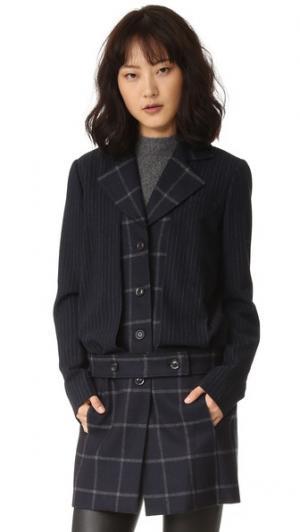 Куртка Max Marissa Webb. Цвет: черный ирис комбо