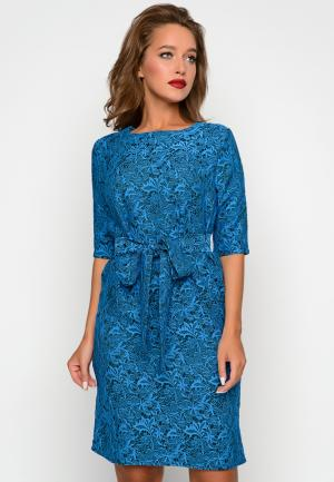 Платье Irma Dressy. Цвет: синий