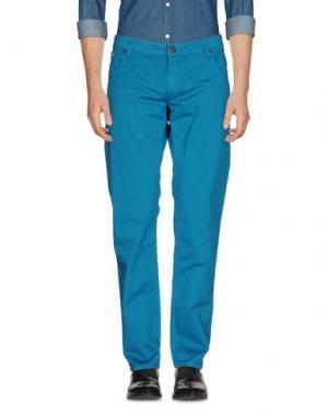 Повседневные брюки IT'S MET. Цвет: цвет морской волны