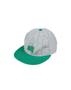 Головной убор EBBETS FIELD FLANNELS. Цвет: зеленый