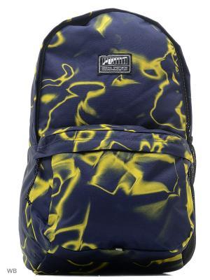 Рюкзак Academy Backpack PUMA. Цвет: темно-синий, желтый