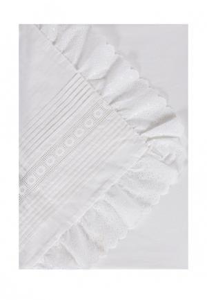 Комплект постельного белья 1,5-спальный Bellehome. Цвет: бежевый