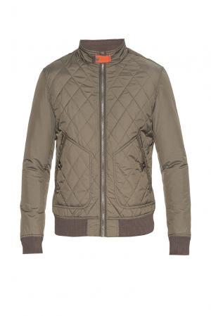 Утепленная куртка 181597 Vivacana. Цвет: зеленый