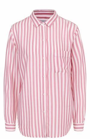Блуза свободного кроя в полоску Rails. Цвет: разноцветный