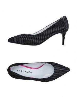 Туфли STRATEGIA. Цвет: серый