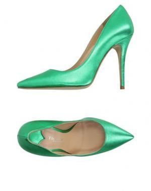 Туфли THE SELLER. Цвет: зеленый