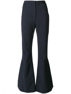 Расклешенные брюки Ellery. Цвет: синий