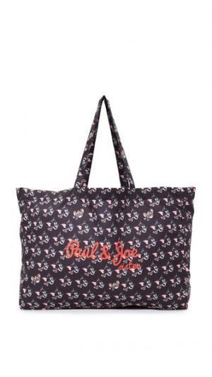 Объемная сумка с короткими ручками Grigri Paul & Joe Sister