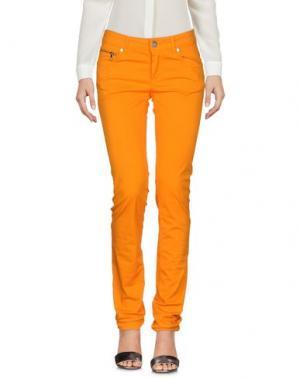 Повседневные брюки DIRK BIKKEMBERGS. Цвет: оранжевый