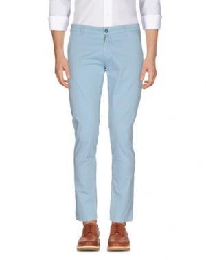 Повседневные брюки EXCLUSIVE. Цвет: небесно-голубой