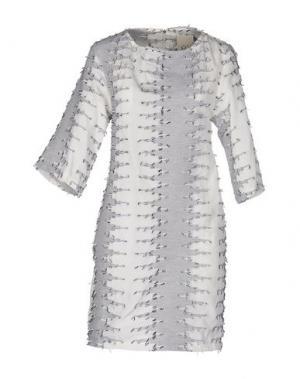 Короткое платье JIJIL. Цвет: белый