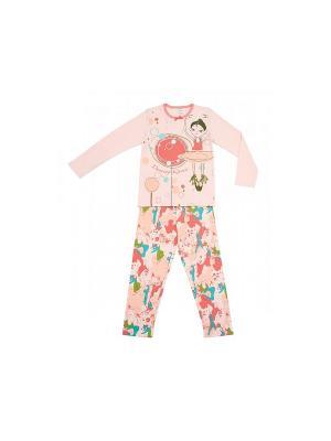 Пижама Модамини. Цвет: бледно-розовый