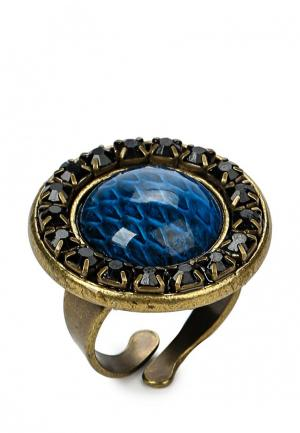 Кольцо Franck Herval. Цвет: синий