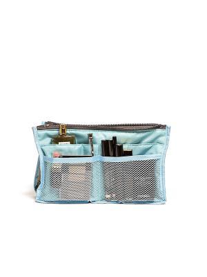 Органайзер для сумки, синий Homsu. Цвет: синий