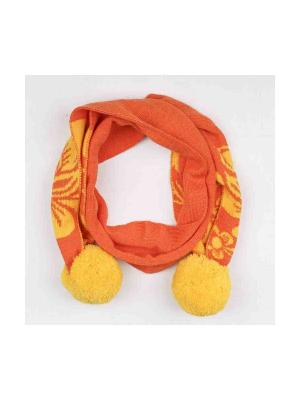 Шарф Vitacci. Цвет: оранжевый