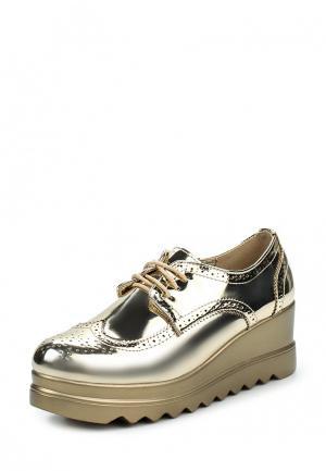 Ботильоны Sweet Shoes. Цвет: золотой