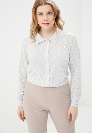 Блуза XLady. Цвет: белый